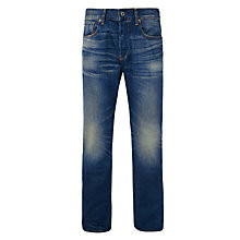 Buy G-Star Raw 3301 Loose Refill Denim Jeans, Dark Aged Online at johnlewis.com