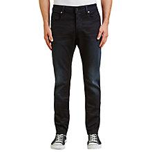 Buy G-Star Raw 3301 Superstretch Slim Jeans, Dark Aged Online at johnlewis.com