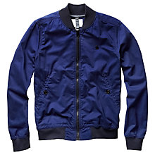 Buy G-Star Raw Shattor Bomber Jacket, Imperial Blue Online at johnlewis.com