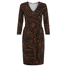 Buy Hobbs Riley Dress, Tan/Black Online at johnlewis.com