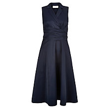Buy Hobbs Elodie Dress, Light Navy Online at johnlewis.com