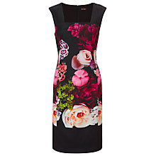 Buy Phase Eight Kazuma Flower Dress, Multi Online at johnlewis.com