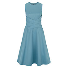 Buy Hobbs Twitchill Dress, Kingfisher Online at johnlewis.com