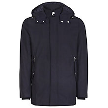 Buy Reiss Monmouth Hooded Jacket, Navy Online at johnlewis.com