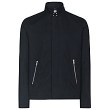 Buy Reiss Helmsworth Twill Technical Jacket, Black Online at johnlewis.com