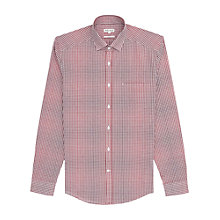 Buy Reiss Oscar Slim Fit Check Shirt, Red Online at johnlewis.com