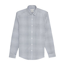 Buy Reiss Oscar Slim Fit Check Shirt, Navy Online at johnlewis.com
