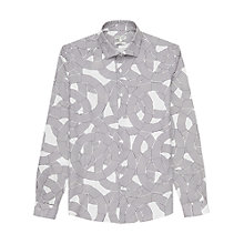 Buy Reiss Spiro Slim Fit Graphic Shirt Online at johnlewis.com