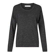 Buy John Lewis Cashmere Blend Scoop Neck Jumper Online at johnlewis.com
