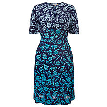 Buy Collection WEEKEND by John Lewis Ombre Floral Dress, Blue Online at johnlewis.com