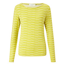 Buy John Lewis Spot Stripe Jersey Top Online at johnlewis.com
