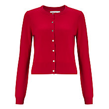 Buy Collection WEEKEND by John Lewis Crew Neck Cashmere Neat Cardigan Online at johnlewis.com
