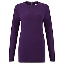 Buy John Lewis Zip Detail Crew Neck Tunic Online at johnlewis.com