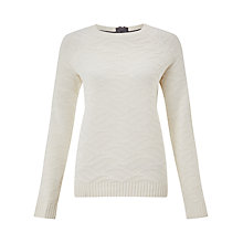 Buy Collection WEEKEND by John Lewis Textured Crew Neck Jumper Online at johnlewis.com