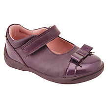 Buy Start-rite Super Soft Bow Detail Casual Shoes, Purple Online at johnlewis.com