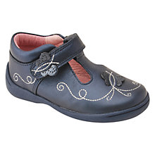 Buy Start-rite Super Soft Mae Leather Shoes, Navy Online at johnlewis.com