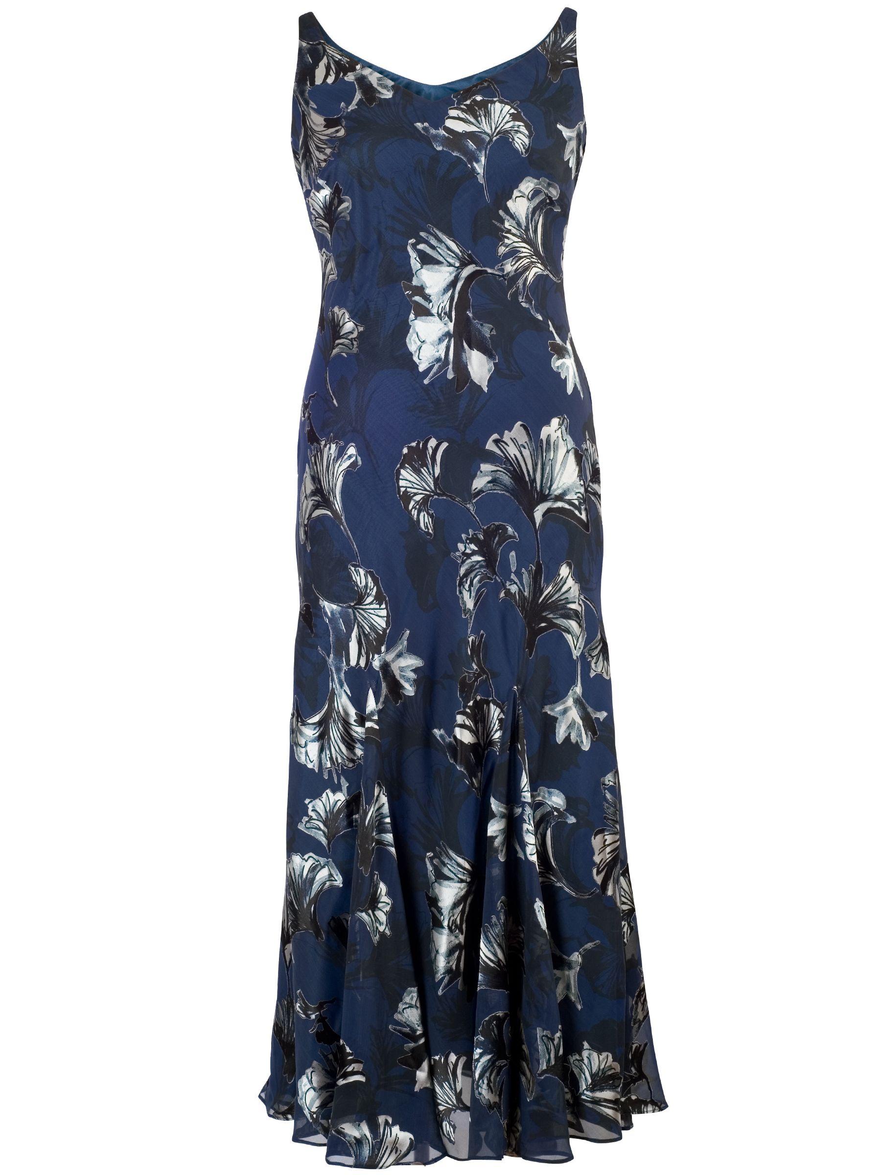 chesca fan print devoree dress navy, chesca, fan, print, devoree, dress, navy, 12|18|22|20|14|16|24, women, plus size, womens dresses, 1895693