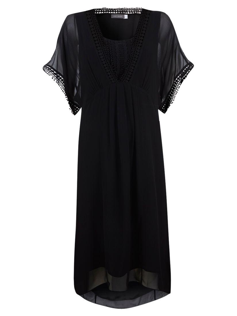 mint velvet pom pom kimono dress black, mint, velvet, pom, kimono, dress, black, mint velvet, 14|16|12|18|10|8, fashion magazine, women, brands l-z, womens dresses, 1877514