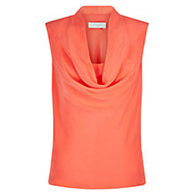 Buy Hobbs Silk Ava Cowl Neck Top Online at johnlewis.com