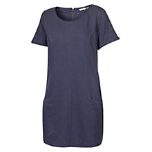 Buy Fat Face Textured Geo Tunic Dress, Navy Online at johnlewis.com