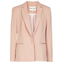 Buy Reiss Indi Tailored Jacket, Soft Amber Online at johnlewis.com