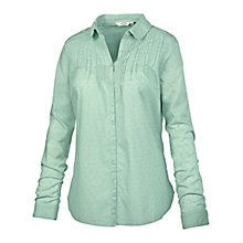 Buy Fat Face Broderie Shirt, Blue Breeze Online at johnlewis.com