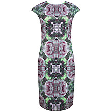 Buy Ted Baker Crochet Rose Midi Dress, Grape Online at johnlewis.com