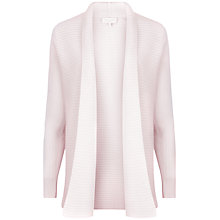 Buy Ted Baker Cashmere Ribbed Wrap, Nude Pink Online at johnlewis.com