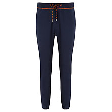 Buy BOSS Jersey Cuff Sweat Pants, Navy Online at johnlewis.com