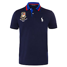 Buy Polo Golf by Ralph Lauren The Open Pro Fit Polo Shirt, True Sapphire Online at johnlewis.com