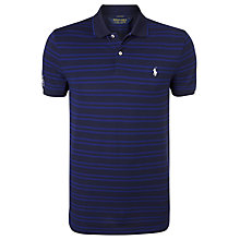 Buy Polo Golf by Ralph Lauren Pro Fit Stripe Polo Shirt Online at johnlewis.com