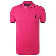 Buy Polo Golf by Ralph Lauren Open Collar Polo Shirt Online at johnlewis.com