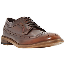 Buy Dune Billiard Leather Brogue Derby Shoes Online at johnlewis.com