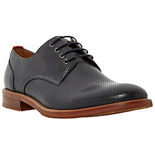 Buy Bertie Rusty Perforated Leather Derby Shoes Online at johnlewis.com
