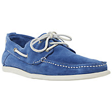 Buy Dune Barracuda Suede Boat Shoes Online at johnlewis.com