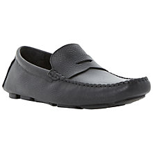 Buy Dune Benny Leather Saddle Loafers Online at johnlewis.com