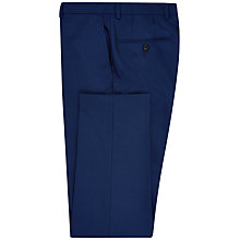 Buy Jaeger Cool Wool Plain Weave Suit Trousers, Bright Blue Online at johnlewis.com