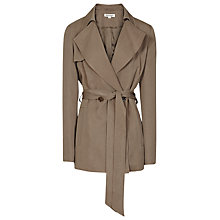 Buy Reiss Radel Trench Coat, Dark Sand Online at johnlewis.com