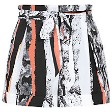 Buy Reiss Steff Shorts, Pomegranate Online at johnlewis.com