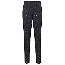 Buy Reiss Kallisti Polka Dot Trousers, Night Navy Online at johnlewis.com