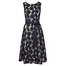 Buy Viyella Cornelli Fit And Flare Dress, Navy Online at johnlewis.com
