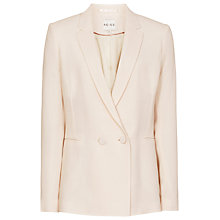 Buy Reiss Ocean Straight Fit Jacket, Oyster Online at johnlewis.com