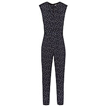 Buy Reiss Liora Printed Jumpsuit, Night Navy Online at johnlewis.com