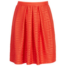 Buy Reiss Delaware Skirt, Pomegranate Online at johnlewis.com