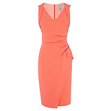 Buy Coast Chanti Dress, Peach Online at johnlewis.com