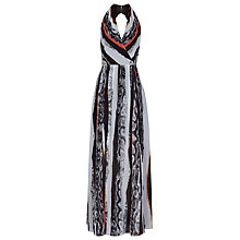 Buy Reiss Derwent Maxi Dress, Pomegrante Online at johnlewis.com
