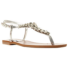 Buy Steve Madden Sidonie Jewel Embellished Sandals Online at johnlewis.com