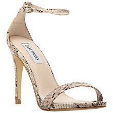 Buy Steve Madden Stecy Barely There High Heeled Sandals Online at johnlewis.com
