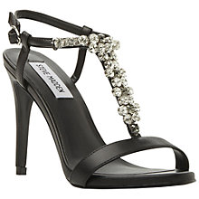 Buy Steve Madden Alizza Embellished Sandals, Black Online at johnlewis.com