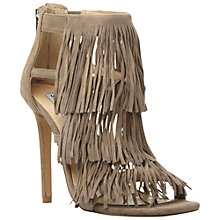 Buy Steve Madden Fringly Suede Fringed Court Shoes Online at johnlewis.com